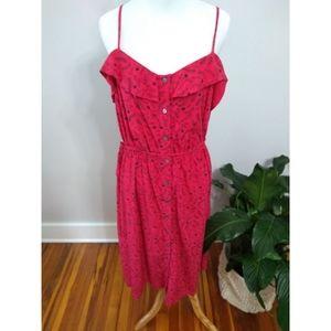 3/$20 Universal thread floral button midi dress